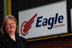 Eagle Couriers director Fiona Deas