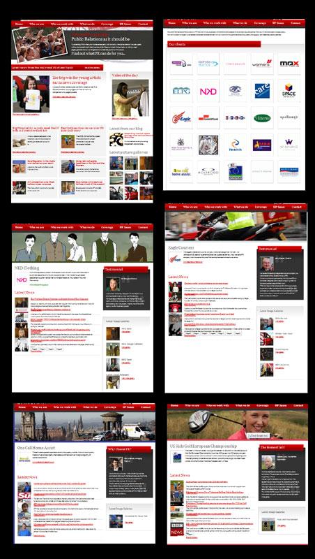 Holyrood Partnership PR website
